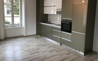 Transformation et rénovation complète d'un ancien appartement locatif